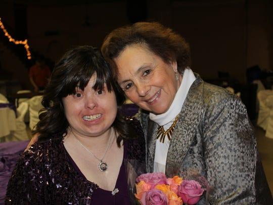 Melissa Elayne Moody, left, and Emily Perl Kingsley