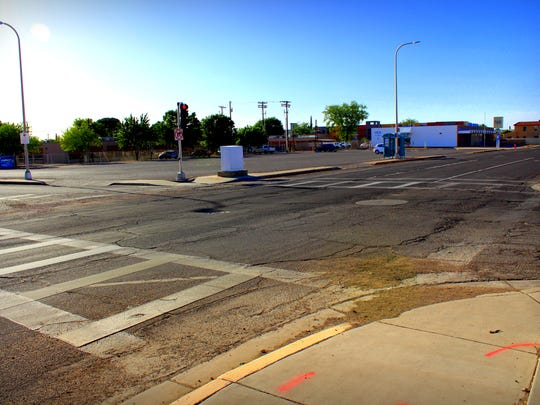 A parking lot at the corner of Water St. and Griggs Ave. in Las Cruces is being considered for multi-use development.