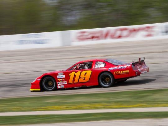 Dalton Zehr plans to race up to 45 times this season on various series.