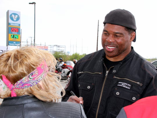 Former Dallas Cowboy and NFL great Herschel Walker