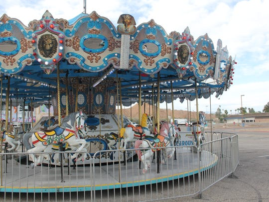 A carnival staple, the carousel, will be one of dozens of rides and attractions people can enjoy during the 2018 Mesquite Days festival