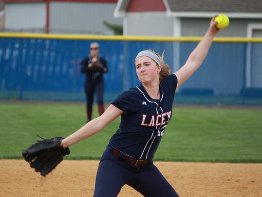 Chelsea Howard led Lacey to an 8-1 win over Toms River