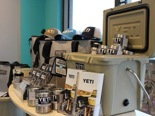Blue Jasmine boutiques, located in Viera, Titusville and Oviedo, sell Yeti products.