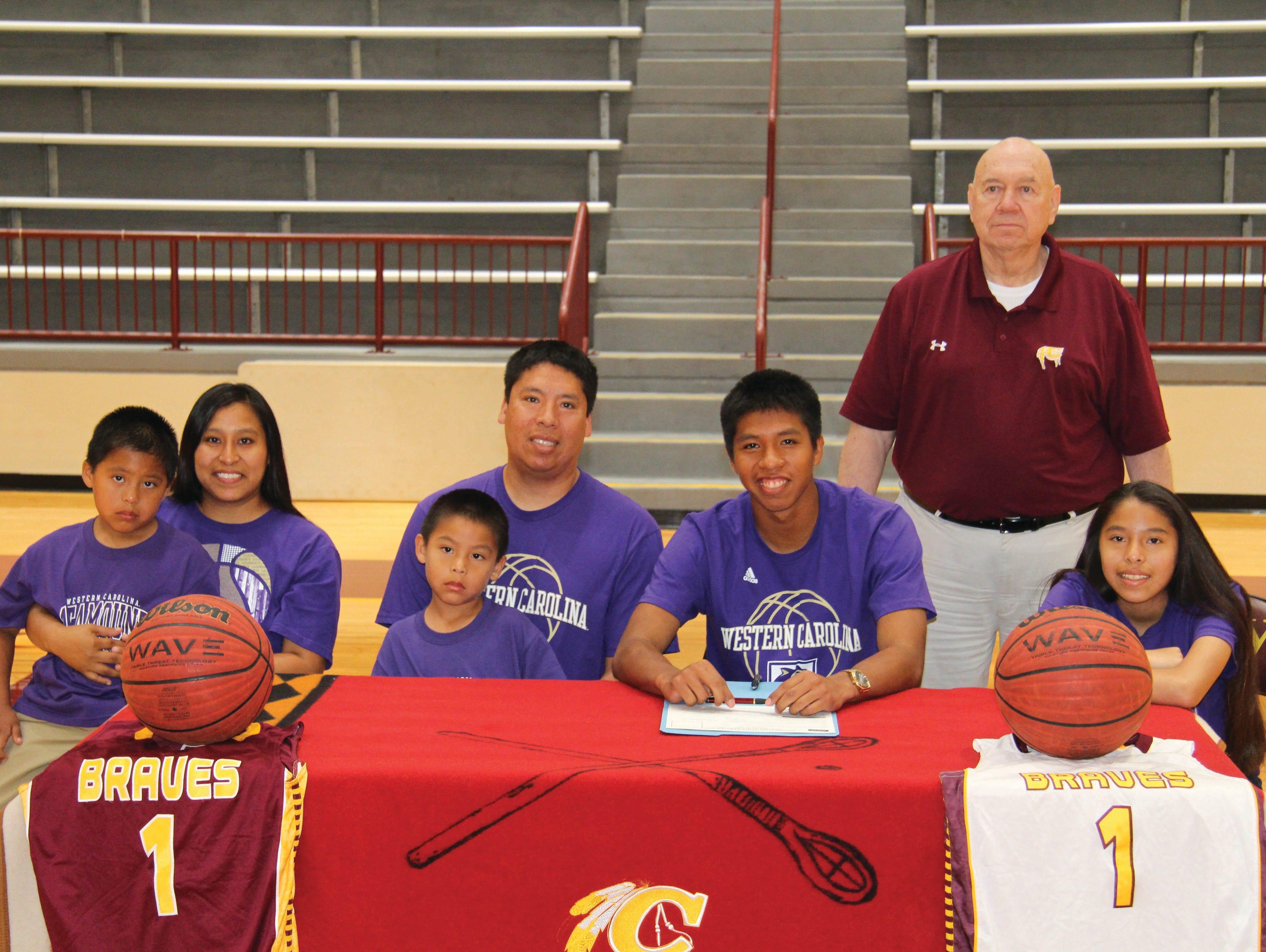 Cherokee senior Jason McMillan has signed to play college basketball for Western Carolina University.