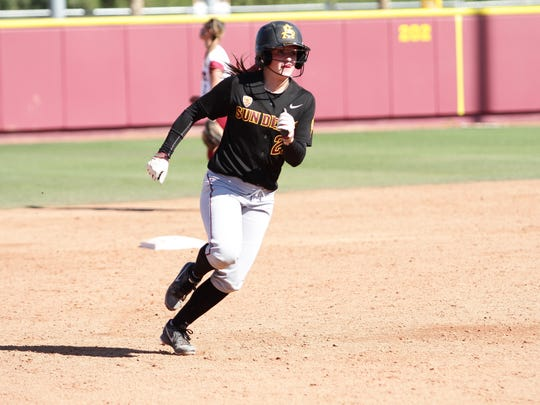 Arizona State softball player Allie Butterfield, from Blanchet.