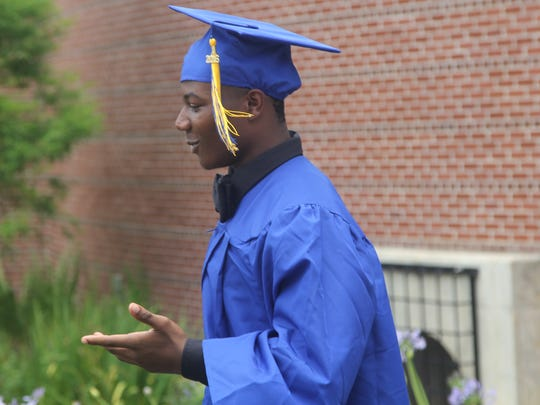 Tyrone Crawford, of Rickards High School, will be graduating this week.