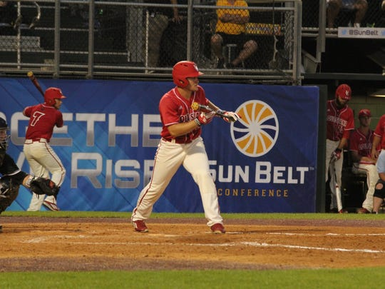 UL faced Arkansas State on Wednesday in the Sun Belt tournament in San Marcos, Texas.