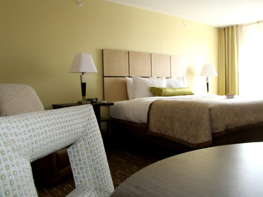 A look inside one of the rooms at the Candlewood Suites