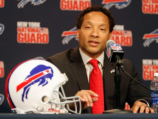 Bills GM Doug Whaley addresses comment on dangers of football