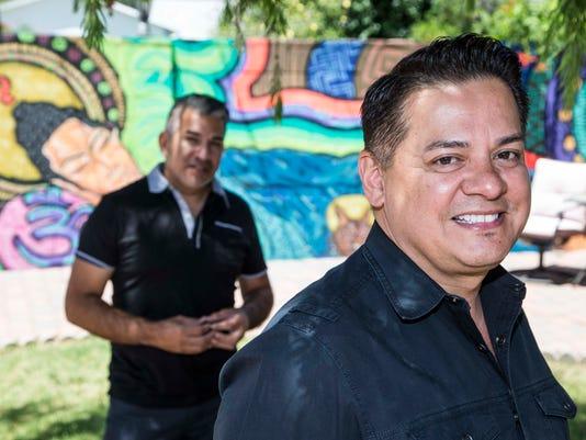 Tony Moya and Santiago Serna