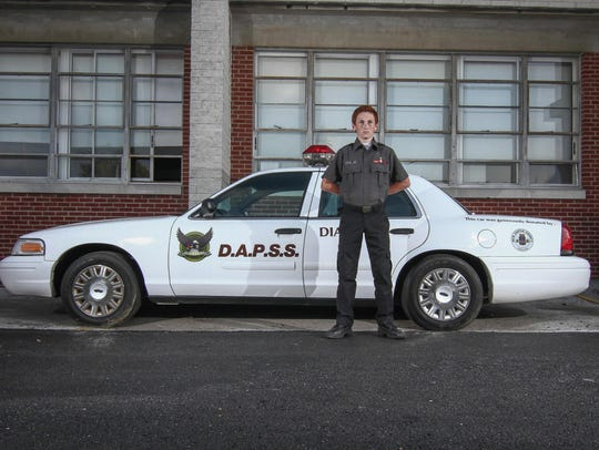 D.A.P.S.S. student Joshua Ritter (14) pose for a photo