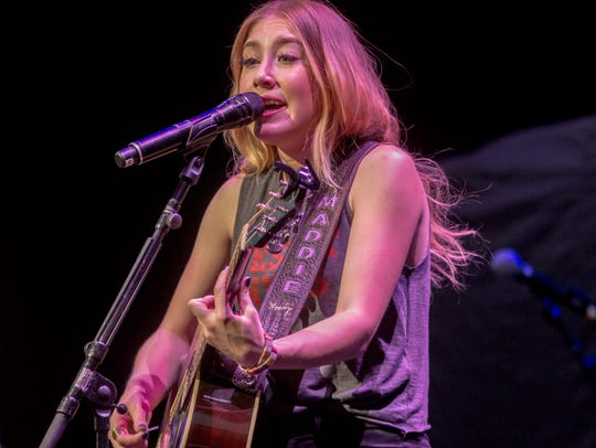 Maddie and Tae open for Brad Paisley at Ak-Chin Pavilion