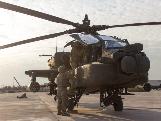 The 3-6 Cav did split operations in Iraq and Kuwait during its nine-month deployment.