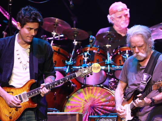 Mickey Hart, Bill Kreutzmann, John Mayer, Bob Weir, Oteil Burbridge, Jeff Chimenti