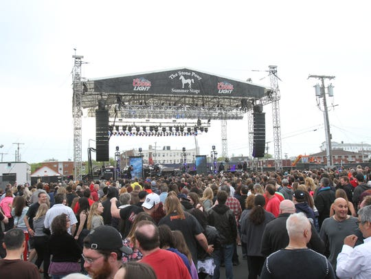 The Stone Pony Summer Stage is open from May through