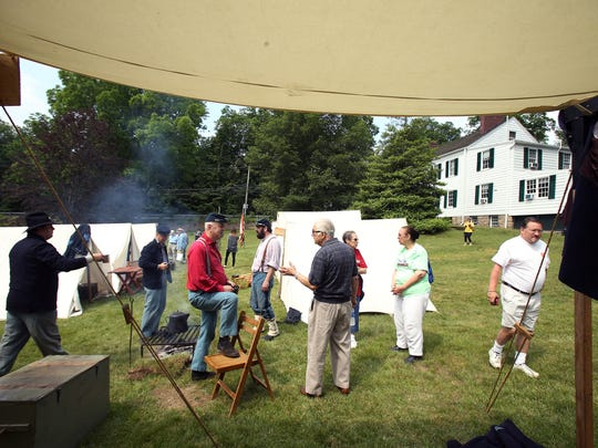 Historic Speedwell hosts their annual 'Civil War Weekend,' a two-day event sponsored by the Second New Jersey Brigade and the Morris County Park Commission. June 11, 2016, Morristown, NJ