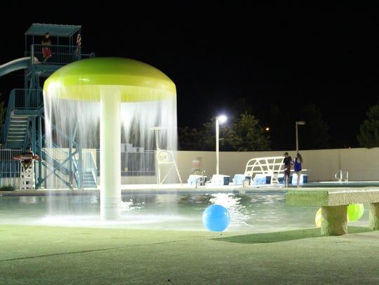 The Sam Baca Aquatic Center at the corner of Buckeye