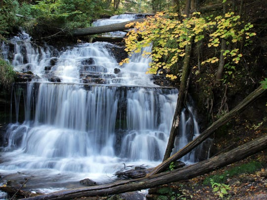 Wagner Falls is in Munising, one of 17 in the area.