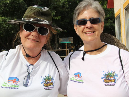 Claire Cowan, left, and Holly Anderson