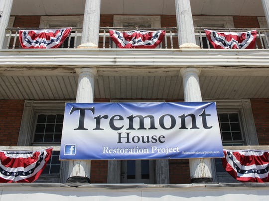 The Tremont House, located at the corner of East Main and Northwest Street in Bellevue, was honored with an Ohio Historical Marker. The Bellevue Historical Society is in the process of restoring the Tremont, which was originally built in 1856.