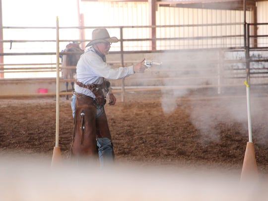 Shooting event at Smokin on the Pecos.