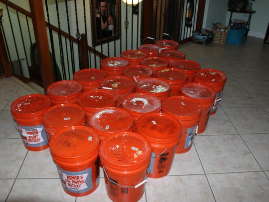 Miami-Dade police found over $20 million inside buckets