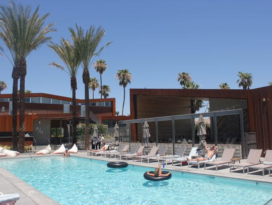 Arrive Hotel in Palm Springs offers a variety of events open to guests and area residents that make it attractive to young adults.