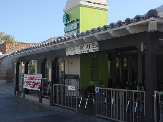 Watercress Vietnamese Bistro opened in Palm Springs