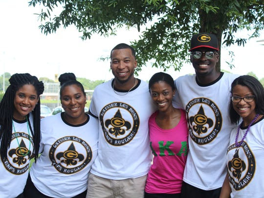 Grambling State University hosts freshman orientation in July.