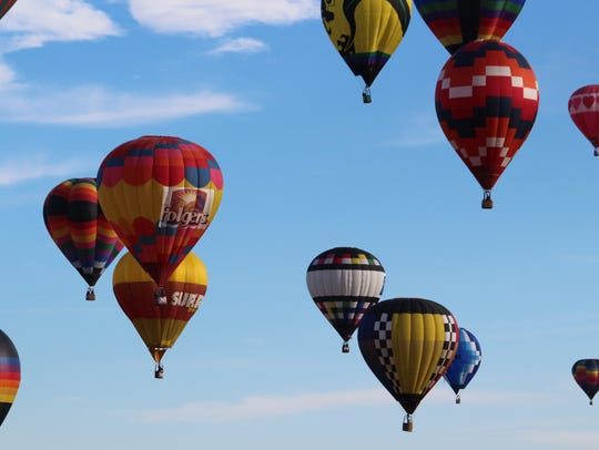 The 2018 Raising Cane's Red River Balloon Rally will be July 13 and 14. The U.S. National Hot Air Balloon Championship will be July 10-15 in Shreveport-Bossier City.