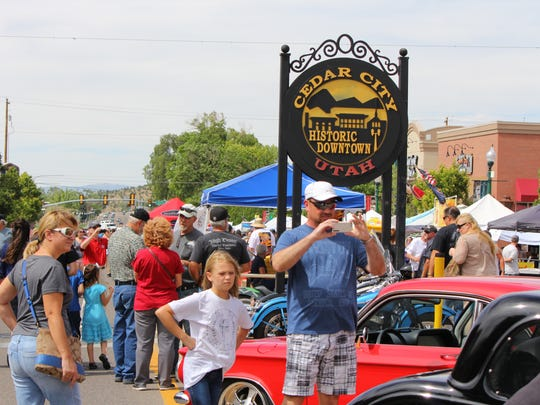 The July Jamboree, hosted by the Cedar City Rotary