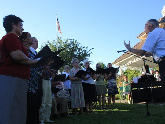 """The St. George Interfaith Council sang """"America the"""