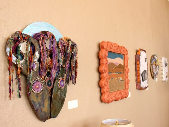 The Fire ad Fiber Art Show will be on exhibit July 2-30 at the Deming Art Center, 100 S. Gold Street.