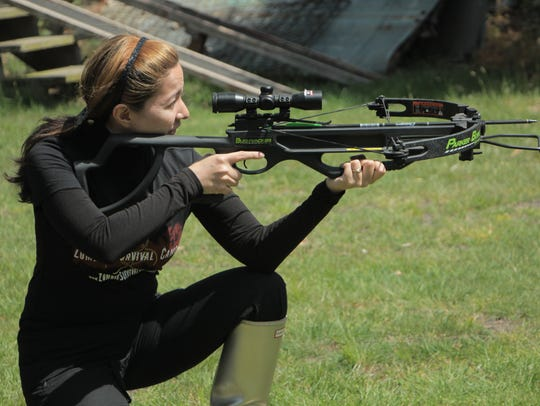 Crossbow shooting is a skill taught at Zombie Survival