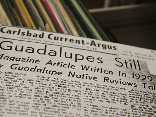 A 1929 edition of the Current-Argus is part of a collection
