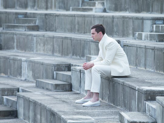 "Silas (Nicholas Hoult) spends his leisure time alone, like all characters in the sci-fi romance ""Equals."""