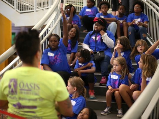 Oasis Center for Women & Girls hold several Girls Can Do Anything camps each summer. This year they've already opened an eco pop-up business and this week will join city leaders for a beautification project at the downtown Food Truck Court