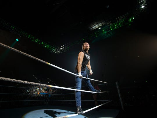 Dean Ambrose is scheduled to face off against The Miz