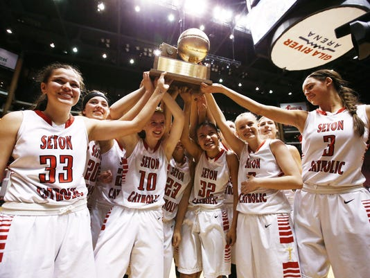 Cactus Shadows vs. Seton Catholic Prep, Division II Girls Championship