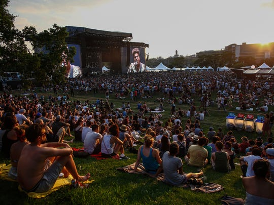 Alabama Shakes performs during Panorama music festival