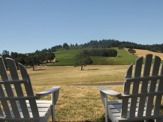 "Stoller Family Estate is an idyllic setting for Willamette Shakespeare's presentation of ""Love's Labour's Lost"" Aug. 5-7. The vineyard will also have a disc golf game on Sunday, July 31."