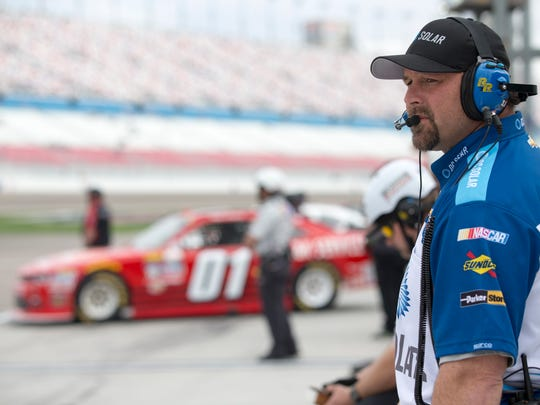 Chad Norris, who grew up in Fremont, is a longtime crew chief for NASCAR and the Xfinity Series.