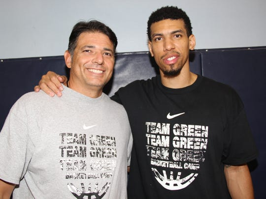 Richard Castro, left, and Danny Green