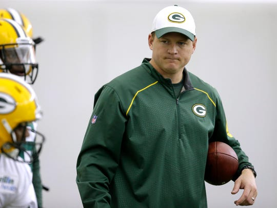 Former Packers receivers coach Luke Getsy is returning as quarterbacks coach.