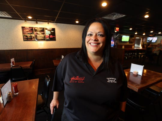 Patty Cinelli-Fallon, co-owner of Gatwyns II Restaurant, a 19-year-old classic American pub located in Jefferson. August 3, 2016, Jefferson, NJ