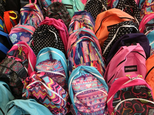 Stuff the Bus drives for back to school items are being held Saturday at Walmarts.