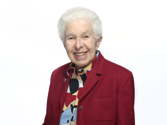 Sister Paula Gonzalez's portrait when she was honored as an Enquirer Woman of the Year in 2015. Sister Gonzalez was a founding member of Ohio Interfaith Power and Light, teacher at the then-College of Mount St. Joseph and volunteer for the Archdiocese of Cincinnati's Catholic Climate Change Task Force. The Enquirer/Cameron Knight