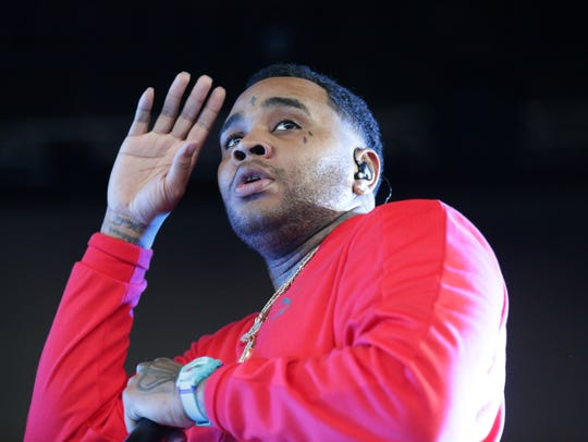 Kevin Gates performs during The High Road Tour at Klipsch