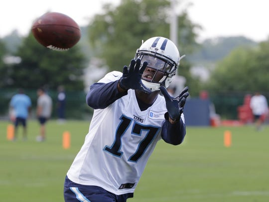 "Wide receiver Dorial Green-Beckham had his work ethic questioned recently by Titans coach Mike Mularkey, who called him ""inconsistent."""