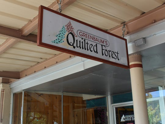Greenbaum's Quilted Forest, one of the oldest family owned businesses in Salem, closed its doors on Monday. The owners, Sylvia and Bill Dorney, plan on retiring in the area.